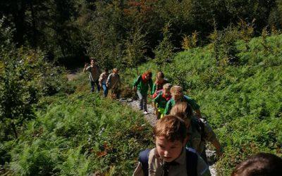 Zweten tijdens de 4Scouts Hike